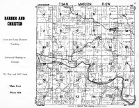 Marion Township, Gunder, Clayton County 1950
